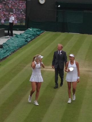 Girls final winner