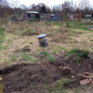 A bit of digging
